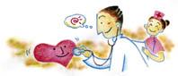 心臓の検査・イラスト
