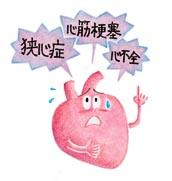 高血圧が招く病気・イラスト